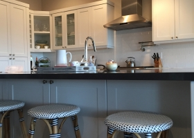 Kitchen remodel, stools